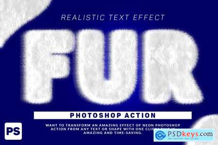 Creativemarket Wool Text Effect Photoshop Action