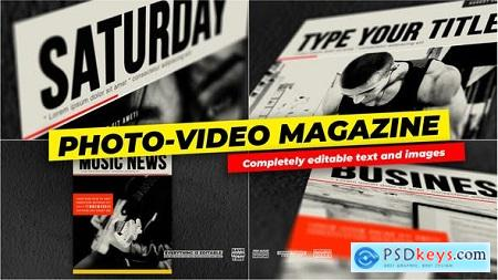 Videohive Photo and Video - Magazine Cover Free