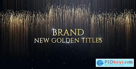 Videohive Luxury Golden Titles Free