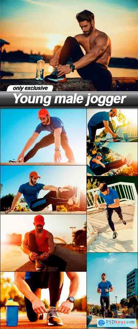 Young male jogger - 9 UHQ JPEG