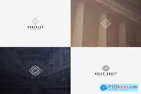 Creativemarket 20 Logos (Attorney & Law)
