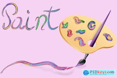 Creativemarket Paint Brushes for Illustrator