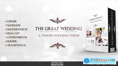 Videohive The Great Wedding Pack Free