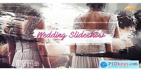Videohive Wedding Brush Slideshow Free