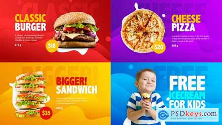 Videohive Food Menu Promo Free