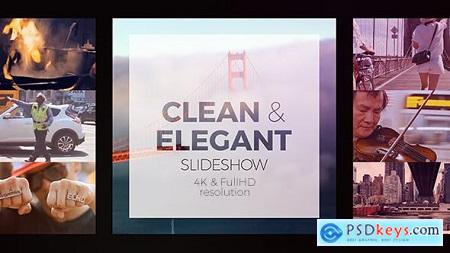 Videohive Clean Elegant Slideshow Free