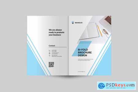 Thehungryjpeg Bi-Fold Brochure Template
