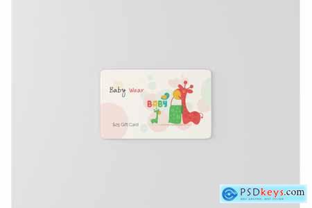 Thehungryjpeg Gift Card Mock-Ups