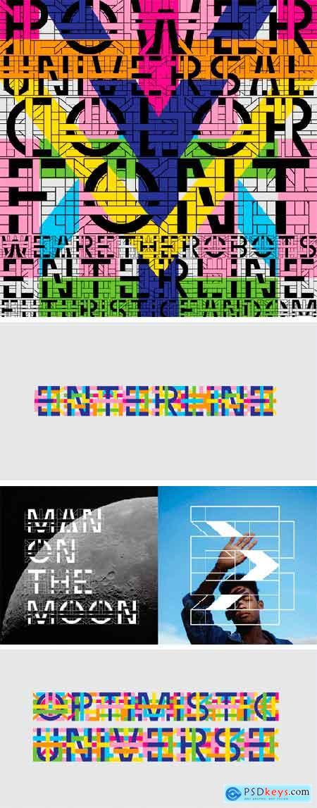 Enterline Font