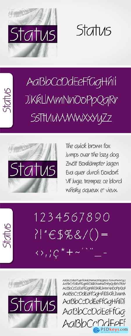 Status Font