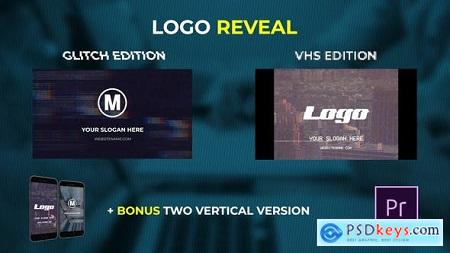 Videohive Logo Reveal - VHS & Glitch Edition Free