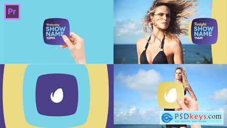 Videohive Broadcast Hand Package Essential Graphics Mogrt Free