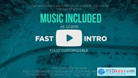 Videohive Youtube Fast Intro