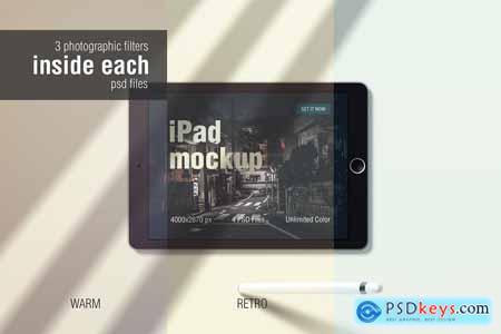 Creativemarket iPad Scene Creator Mockup