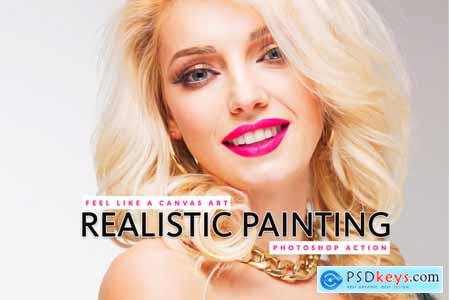 Thehungryjpeg Realistic Painting Photoshop Action