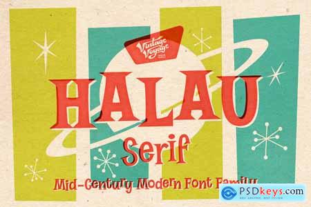 Creativemarket VVDS Halau Serif