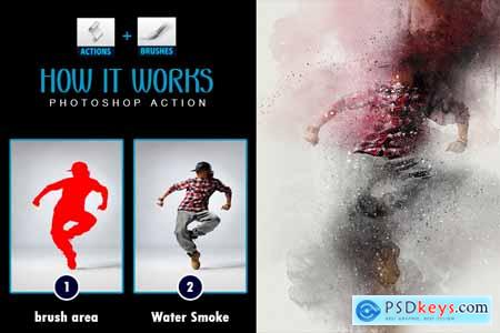 Thehungryjpeg Water Smoke Photoshop Actions