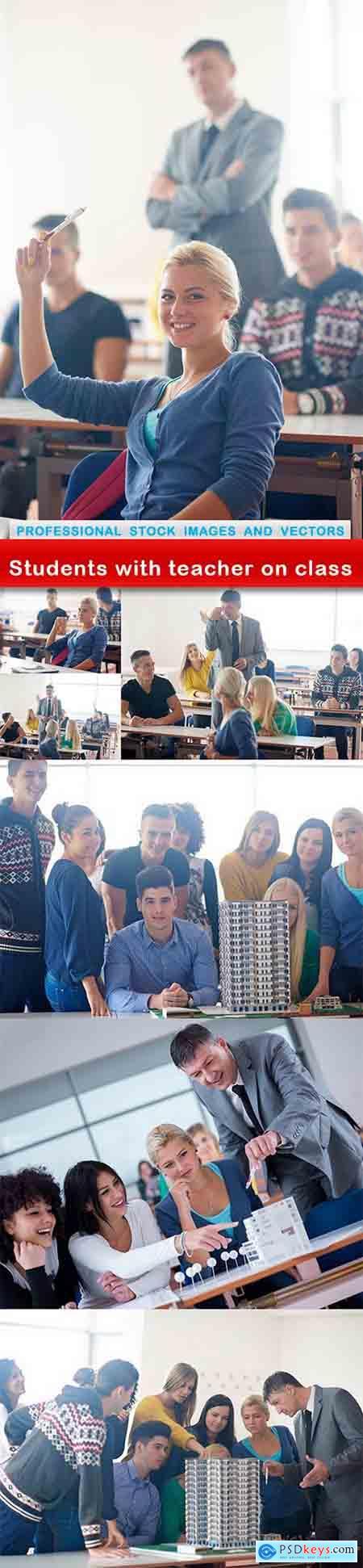Students with teacher on class - 7 UHQ JPEG