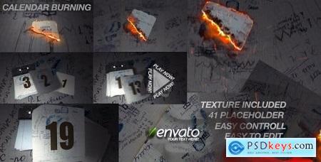 Videohive Calendar Burn Free