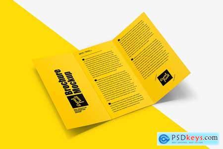 Creativemarket Brochure Leaflet PSD Mockup