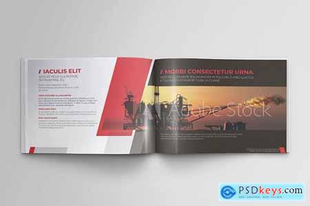 Creativemarket Offshore Oil and Gas Booklet Design