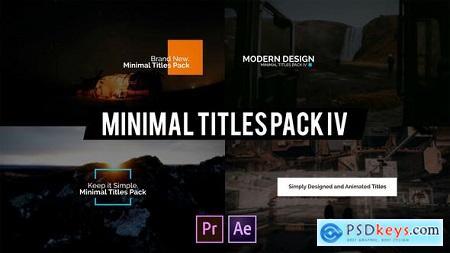 Videohive Minimal Intro Titles lV for Premiere Pro Free