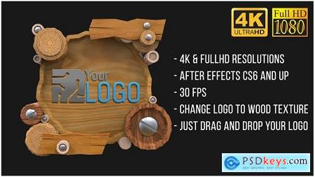 Videohive Wooden Logo (AfterFX) Free
