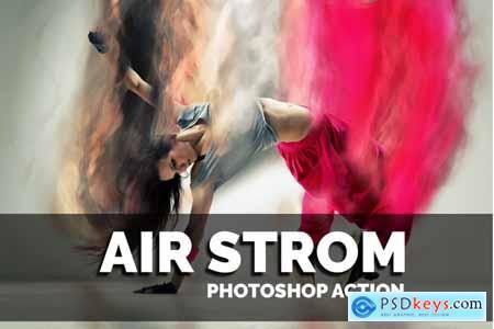 Thehungryjpeg Airstrom Photoshop Action