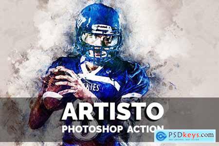 Creativemarket Artisto Photoshop action