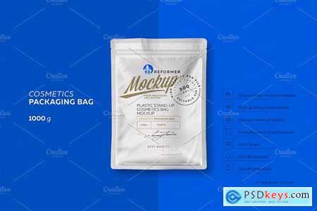 Creativemarket Cosmetics Bag 2 Mock-ups Files