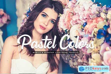 Creativemarket Pastel Colors Mobile & Desktop Lightroom Presets