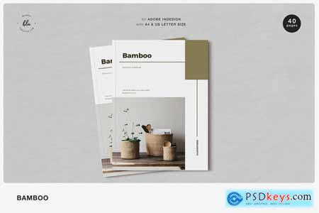 Creativemarket BAMBOO Furniture Lookbook