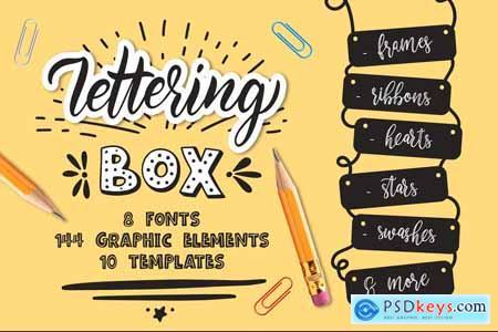 Creativemarket Lettering box Creative collection