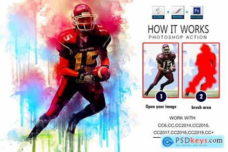 Creativemarket Pro Watercolor Photoshop Actions