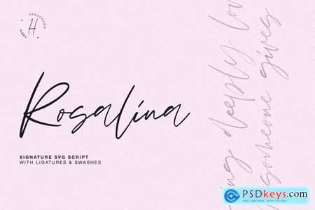 Creativemarket ROSALINA SVG SCRIPT