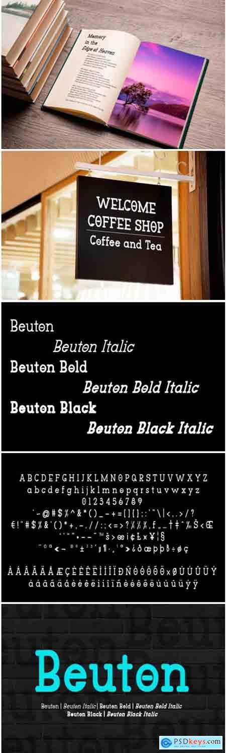 Beuton Font Family