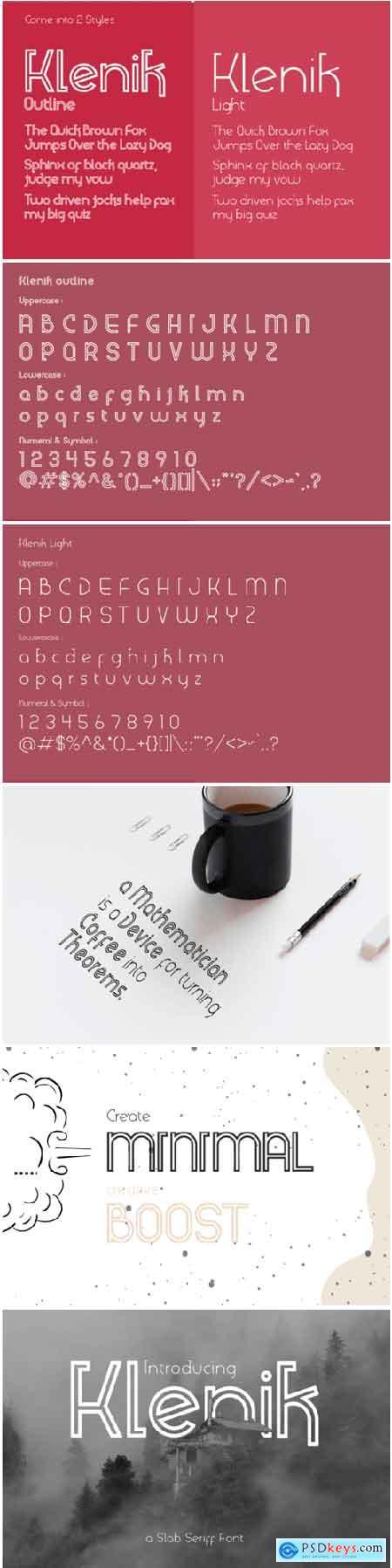Klenik Font