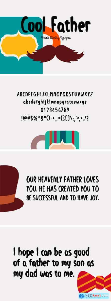 Cool Father Font