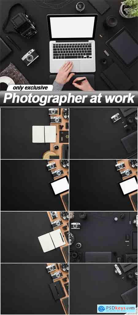 Photographer at work - 9 UHQ JPEG