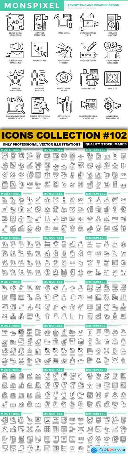 Icons Collection #102 - 20 Vector