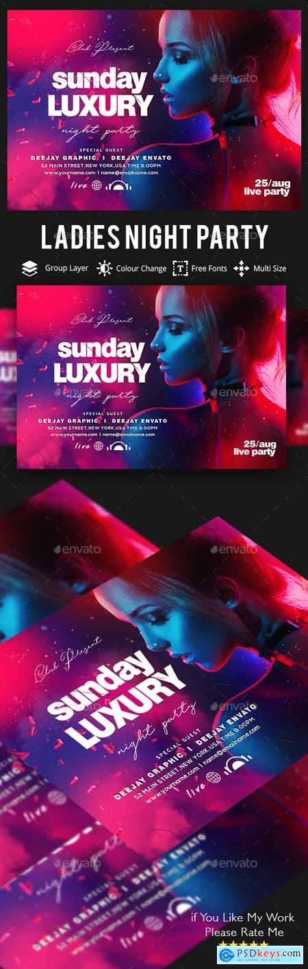 Graphicriver Guest DJ Artist Flyer