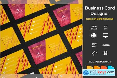 Creativemarket Business Card Designer