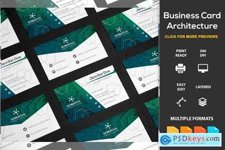 Creativemarket Business Card Architecture