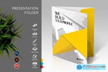 CreativeMarket Presentation Folder