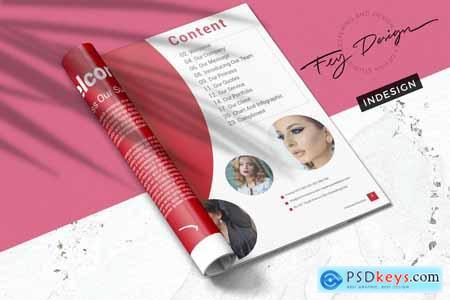 Creativemarket Rive - Multipurpose Brochure