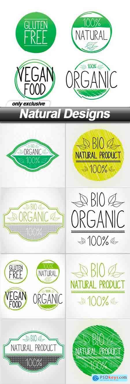 Natural Designs - 9 EPS