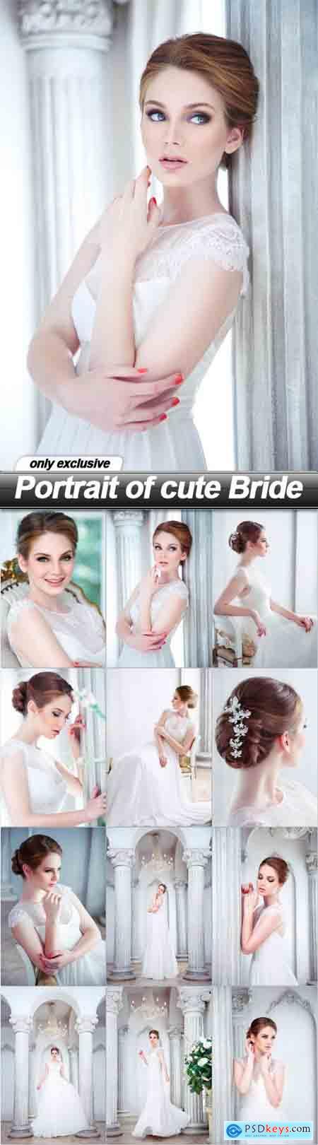 Portrait of cute Bride - 12 UHQ JPEG
