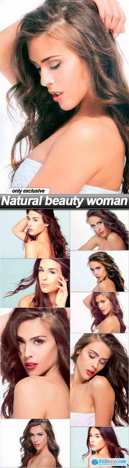 Natural beauty woman - 10 UHQ JPEG