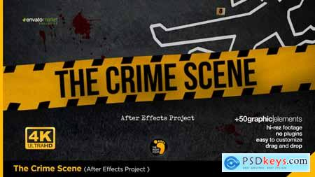 Videohive The Crime Scene Opener Free
