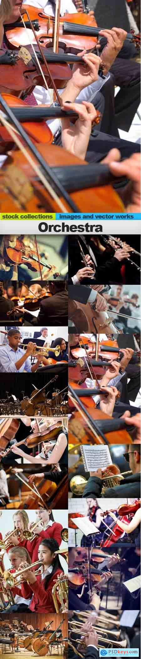 Orchestra, 15 x UHQ JPEG